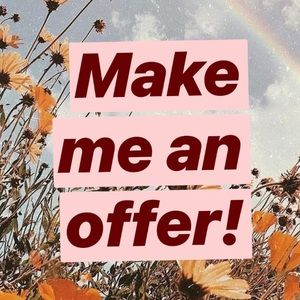 Make me an offer on any item :)
